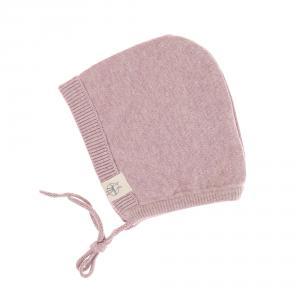Lassig - 1531001703-68 - Bonnet tricoté GOTS Garden Explorer rose clair, 62 - 68 (3 - 6 mois) (417088)