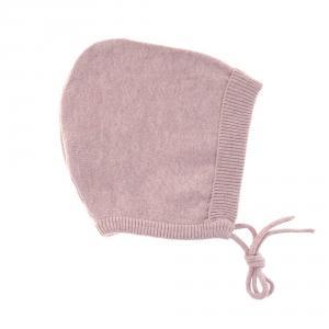 Lassig - 1531001703-80 - Bonnet tricoté GOTS Garden Explorer rose clair, (417090)