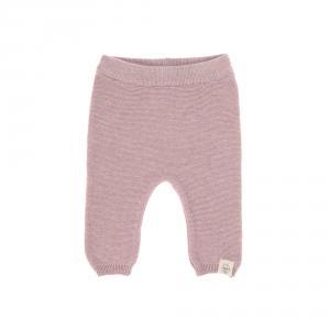 Lassig - 1531002703-68 - Pantalon tricoté GOTS Garden Explorer rose clair, 62/68 (417100)