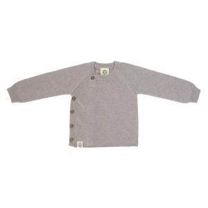 Lassig - 1531003200-68 - Gilet tricoté GOTS Garden Explorer gris 62 - 68 (3 - 6 mois) (417104)