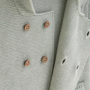 Lassig - 1531006565-80 - Gilet tricoté à capuche GOTS Garden Explorer (417146)