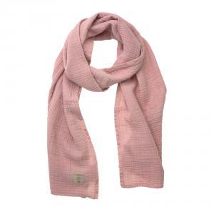 Lassig - 1531007707 - Écharpe d'allaitement en mousseline rose, (417160)