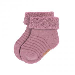 Lassig - 1532001959-12 - Lot de 3 chaussettes bébé GOTS bois de rose, (417170)