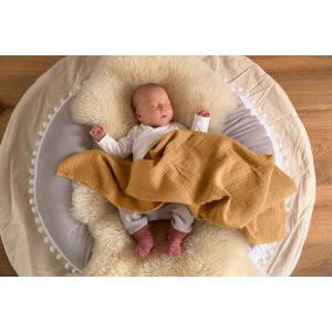 Lassig - 1532001959-19 - Lot de 3 chaussettes bébé GOTS bois de rose, 19 - 22 (1 - 2 ans) (417174)