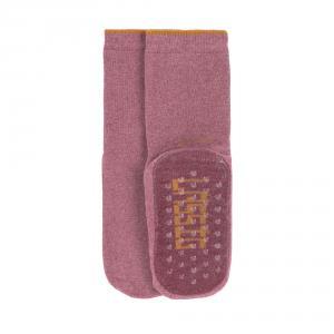 Lassig - 1532002961-23 - Lot de 2 chaussettes antidérapantes bois de rose (417186)