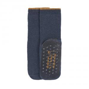Lassig - 1532002962-15 - Lot de 2 chaussettes antidérapantes bleu/gris, 15 - 18 (4 - 12 mios) (417190)