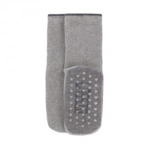 Lassig - 1532002963-15 - Lot de 2 chaussettes antidérapantes gris/beige, (417198)