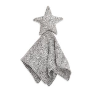 Aden and Anais - ALVN10002 - Doudou musy mate lovey maille ultra-cosy heather grey (417468)
