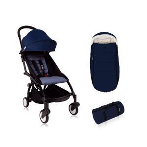 Babyzen - Bu221 - Poussette enfant YOYO+ 6+ Bleu Air France avec chancelière (417504)