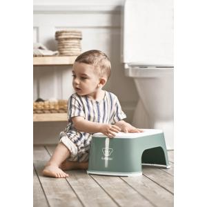 Babybjorn - 061268 - Marchepied, Vert profond/Blanc (417558)