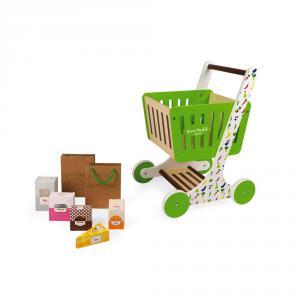 Janod - J06579 - Chariot de courses en bois green market (417880)