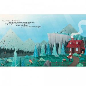 Sassi - 300774 - Livre album illustré : Le Cœur d'un Grand-Père (418400)
