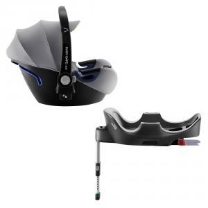 Britax Roemer - 2000032893 - Siège- auto bébé BABY-SAFE² i-Size et BASE FLEX Cool Flow – Silver (418478)