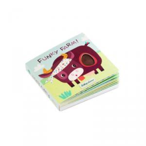Lilliputiens - 83152 - FUNKY FARM Livre tactile et sonore * (418542)