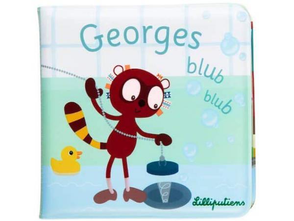 Georges blub blub - livre de bain *
