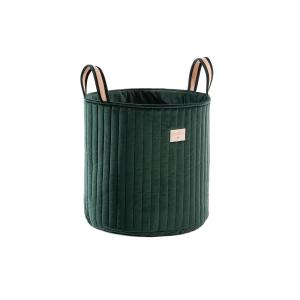 Nobodinoz - N113333 - Sac de rangement, jouets Nobodinoz Savanna jungle green (418678)