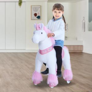 Ponycycle - U402 - Ponycycle Licorne Rose a monter Grand modele - Age 4-9 ans (418686)
