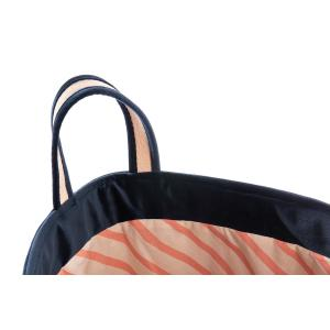 Nobodinoz - N113296 - Sac à jouets Savanna NIGHT BLUE (418758)