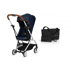 Cybex - BU260 - Pack Eezy S Twist Denim-Denim Blue et accessoire (418784)