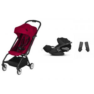 Cybex - BU259 - Pack travel-system Eezy S Twist Scuderia Ferrari Racing Red et Cloud Z (418786)