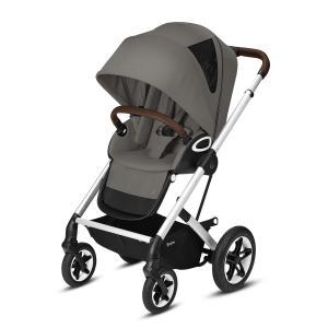 Cybex - 520001487 - Poussette TALOS S LUX chrome Soho Grey - mid grey (419182)