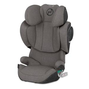 Cybex - 520002401 - Siège-auto groupe 2/3 SOLUTION Z I-FIX PLUS Soho Grey - mid grey (419240)