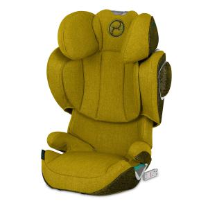 Cybex - 520002397 - Siège-auto groupe 2/3 SOLUTION Z I-FIX PLUS Mustard Yellow - yellow (419244)