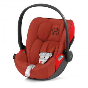 Cybex - 520000071 - Siège-auto bébé CLOUD Z I-SIZE PLUS incl. SENSORSAFE Autumn Gold - burnt red (419322)