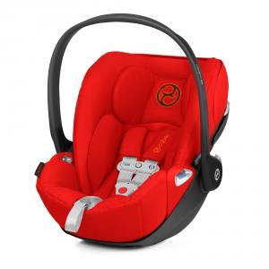 Cybex - 520002461 - Siège-auto bébé CLOUD Z I-SIZE incl. SENSORSAFE Autumn Gold - burnt red (419346)