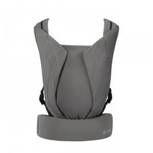 Cybex - 520003031 - Porte-bébé physiologique YEMA CLICK Soho Grey - mid grey (419360)