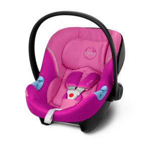 Cybex - 520000249 - Siège-auto groupe 0+ ATON M Magnolia Pink - purple (419504)