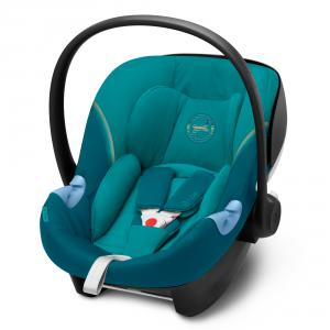 Cybex - 520000341 - Siège-auto naissance ATON M I-SIZE River Blue - turquoise (419518)