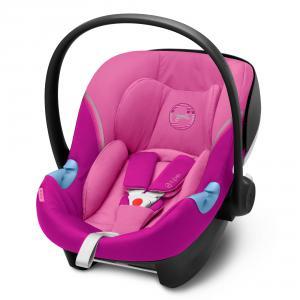 Cybex - 520000345 - Siège-auto groupe 0+ ATON M I-SIZE Magnolia Pink - purple (419520)