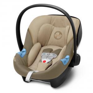 Cybex - 520002505 - Siège-auto bébé ATON M I-SIZE incl. SENSORSAFE Classic Beige - mid beige (419546)