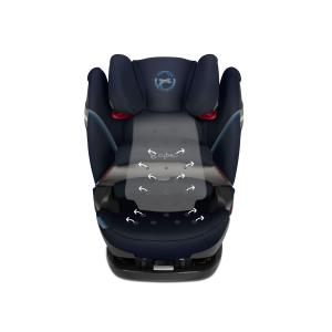 Cybex - 520000559 - Siège-auto junior PALLAS S-FIX Granite Black - black (419670)