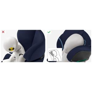 Cybex - 520002409 - Siège-auto groupe 2/3 SOLUTION S I-FIX Navy Blue - navy blue (419692)