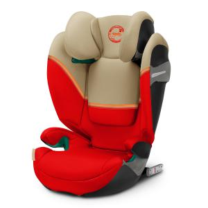 Cybex - 520002417 - Siège-auto enfant SOLUTION S I-FIX Autumn Gold - burnt red (419698)