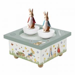 Trousselier - S95860 - Boite à Musique Dancing Peter Rabbit© (419882)