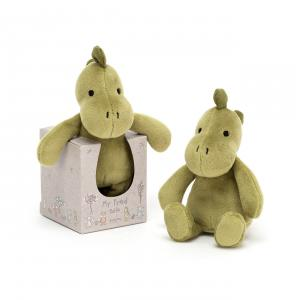 Jellycat - MYF4DR - My Friend Dino Rattle - 12 cm (420186)