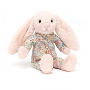 Jellycat - BTBB4BS - Peluche lapin Bedtime Blossom - L = 5 cm x l = 9 cm x H =23 cm (420198)