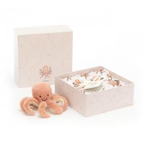 Jellycat - OD2SET - Odell Octopus Gift Set - 18 cm (420214)