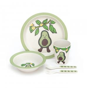 Jellycat - ABAM4A - Amuseable Avocado Bamboo Set - 25 cm (420230)