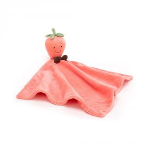 Jellycat - AS4S - Amuseable Strawberry Soother - 34 cm (420238)