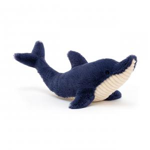 Jellycat - DAN2DD - Peluche dauphin Dana - L = 11 cm x l = 38 cm x H =13 cm (420370)