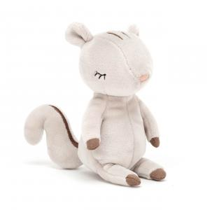 Jellycat - MK6S - Peluche écureuil Minikin - L = 4 cm x l = 5 cm x H =15 cm (420456)