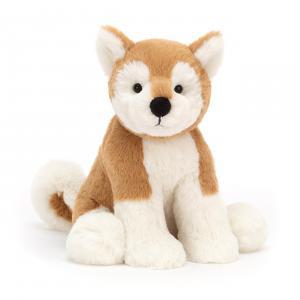 Jellycat - MS2MILO - Peluche chien Shiba Inu Milo - Mediu - L = 9 cm x l = 13 cm x H =30 cm (420478)