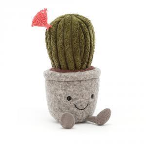 Jellycat - SS6C - Peluche cactus Silly Succulent - L = 5 cm x l = 6 cm x H =19 cm (420562)