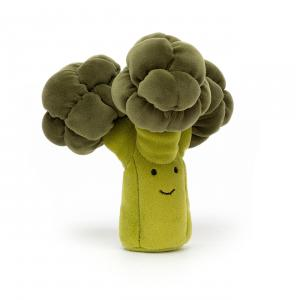 Jellycat - VV6B - Peluche broccoli Vivacious Vegetable - L = 4 cm x l = 14 cm x H =17 cm (420564)