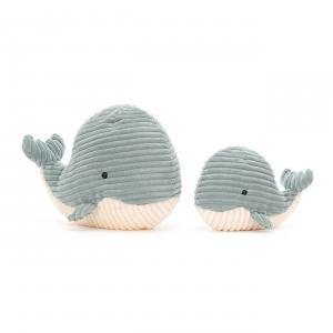 Jellycat - SR3W - Peluche baleine Cordy Roy - L = 16 cm x l = 12 cm x H =18 cm (420574)