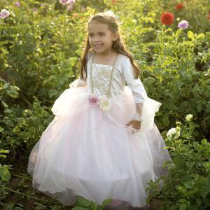 Great Pretenders - 31923 - Robe de princesse rose pâle et or, taille EU 92-104 - 2-4 ans (420822)